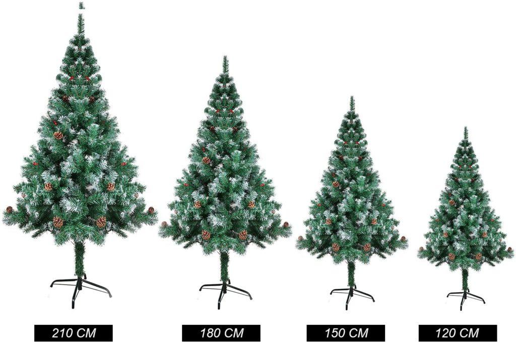 ¿Que tamaño de árbol de navidad comprar?
