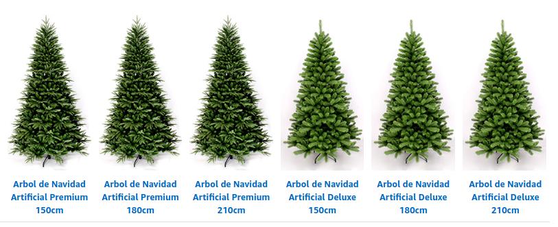 Wohaga® Árbol de Navidad Abeto Artificial Decoración navideña