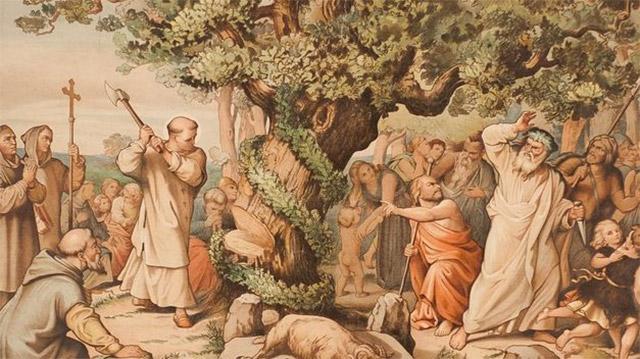 el origen del arbol denavidad