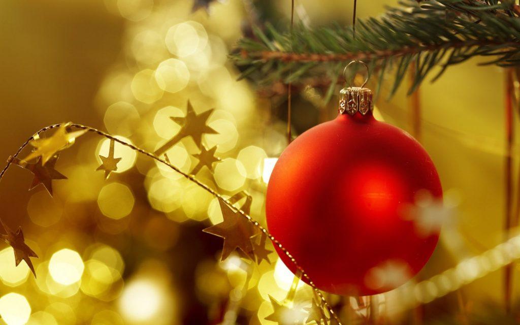 Bolas para el árbol navideño