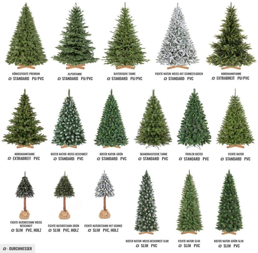 Modelos de arboles de navidad FairyTrees