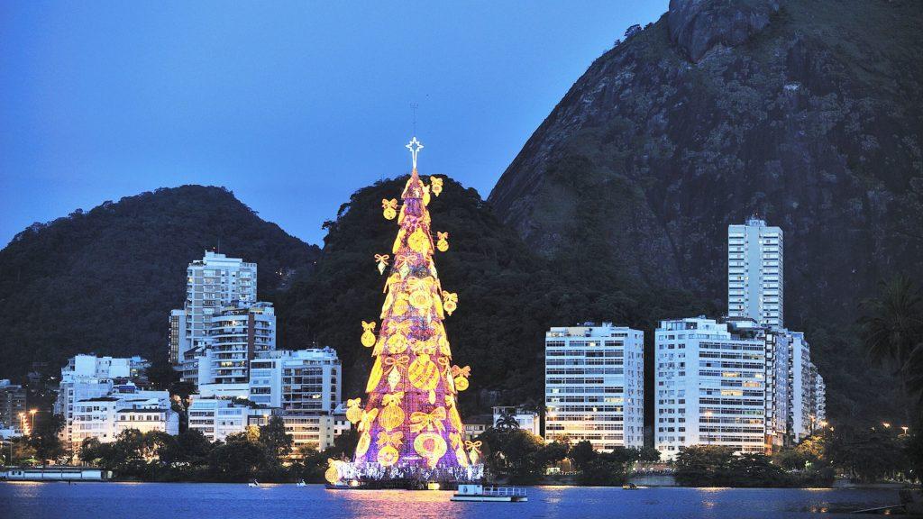 Árbol de Navidad | Arbol Flotante Brasil