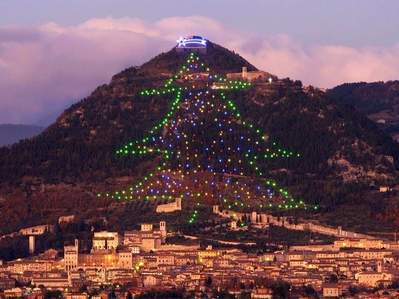 Árbol de Navidad | Gubbio al Norte de Italia
