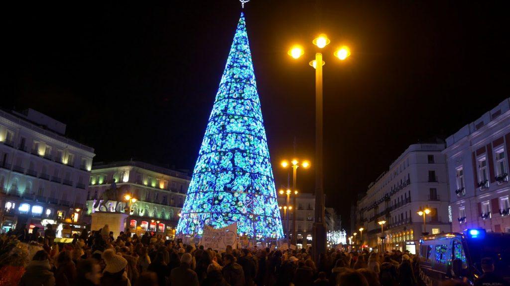 Árbol de Navidad | Madrid Puerta del Sol España