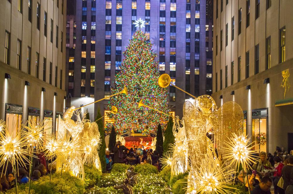 Árbol de Navidad |Rockefeller Center, Estados Unidos