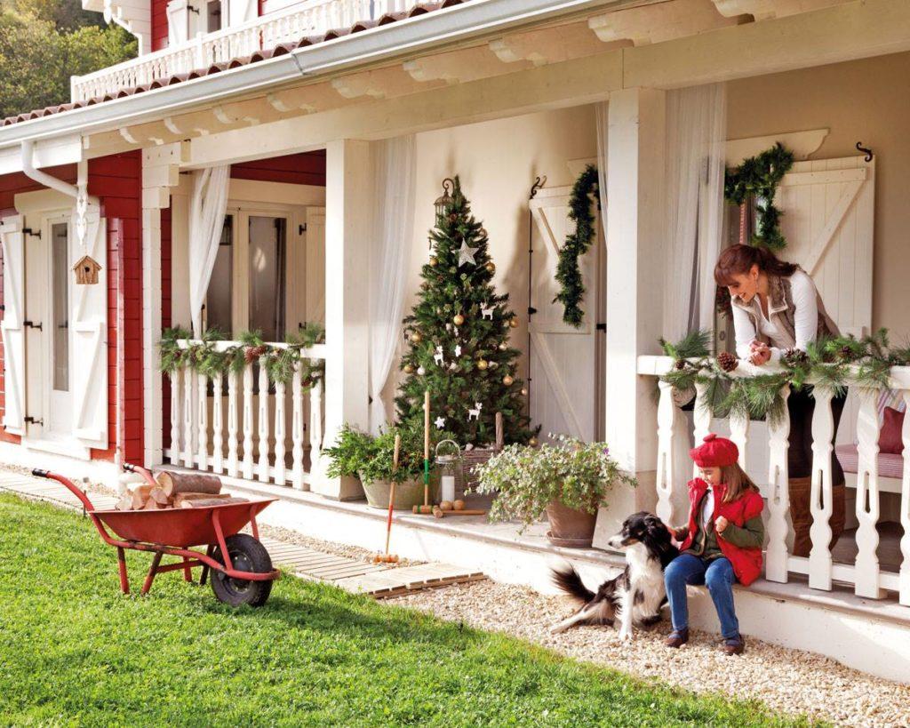 arbol de navidad para jardin